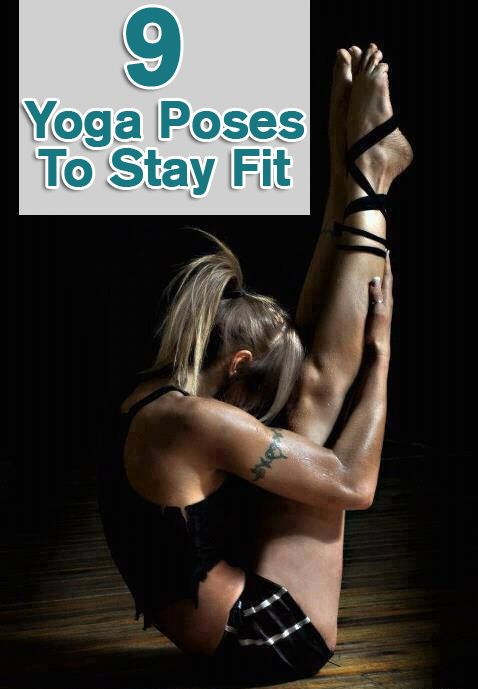 9 yoga poses to stay fit