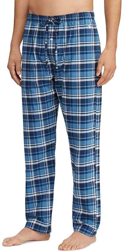 d125caec22 Polo Ralph Lauren Plaid Stretch Pajama Pants Mens Plaid Pants, Flannel  Pajamas, Cotton Pyjamas