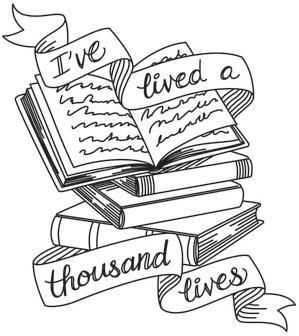 Image result for literary tattoo clipart
