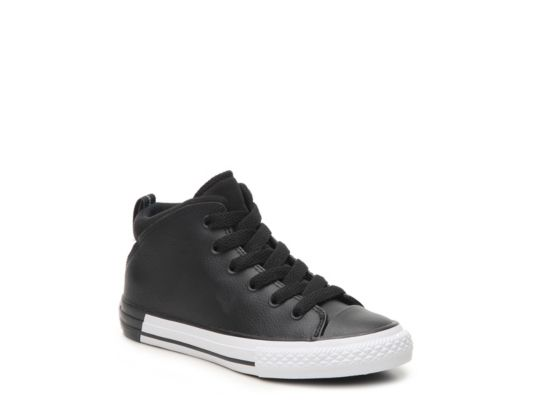 Men's Boys Chuck Taylor All Star Official Toddler & Youth High-Top Sneaker - Black