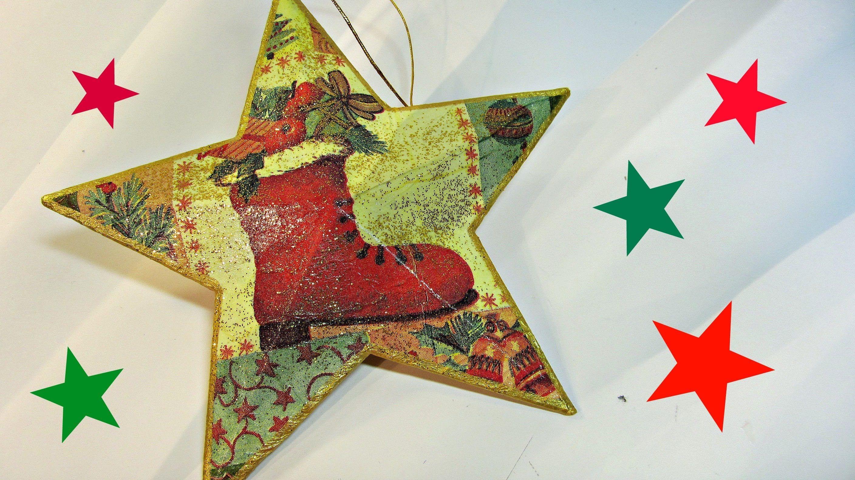 Como hacer estrellas de navidad 3d christmas star - Como hacer estrellas de navidad ...