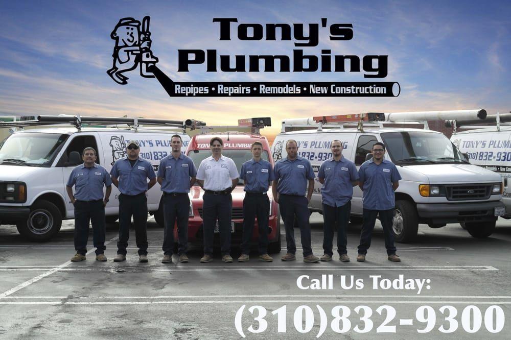Tony S Plumbing Https Www Yelp Com Biz Tonys Plumbing Harbor City 3 Harbor City Plumbing City
