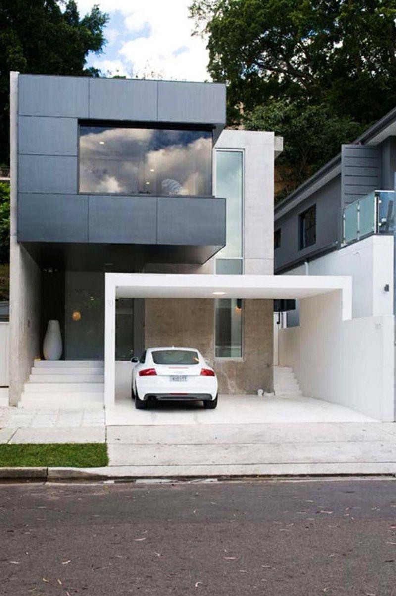 20 Open Garages Accommodated To Houses Modern Mimari Mimari