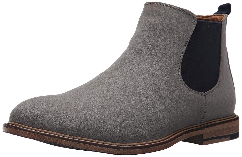 cd1b7ed747d STEVE MADDEN MADDEN MENS M-GRAYE ALMOND TOE ANKLE CHELSEA BOOTS.   stevemadden  shoes
