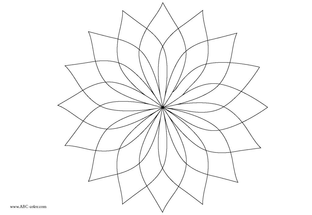 flower mosaic coloring pages | Coloring Pic | Embroidery - Designs To Print | Free mosaic ...