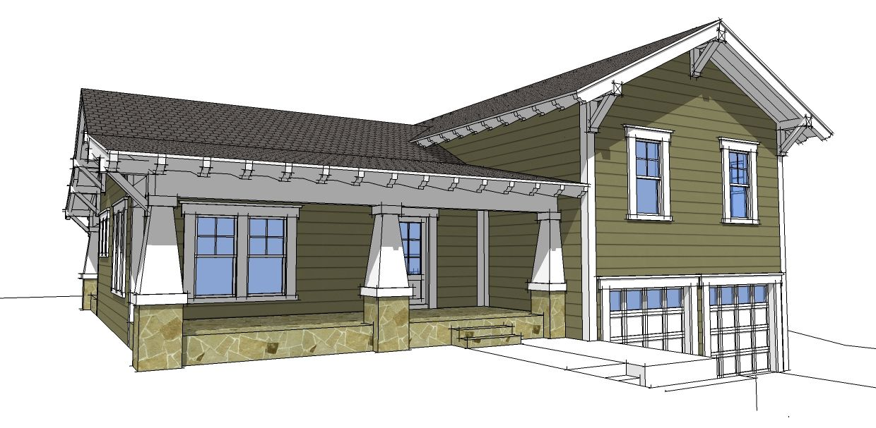 Plan 44067td craftsman split level craftsman house and for Beach house plans with garage underneath