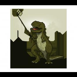 Tyrannoselfie Rex   Rex, Something to do, Dinosaur stuffed animal