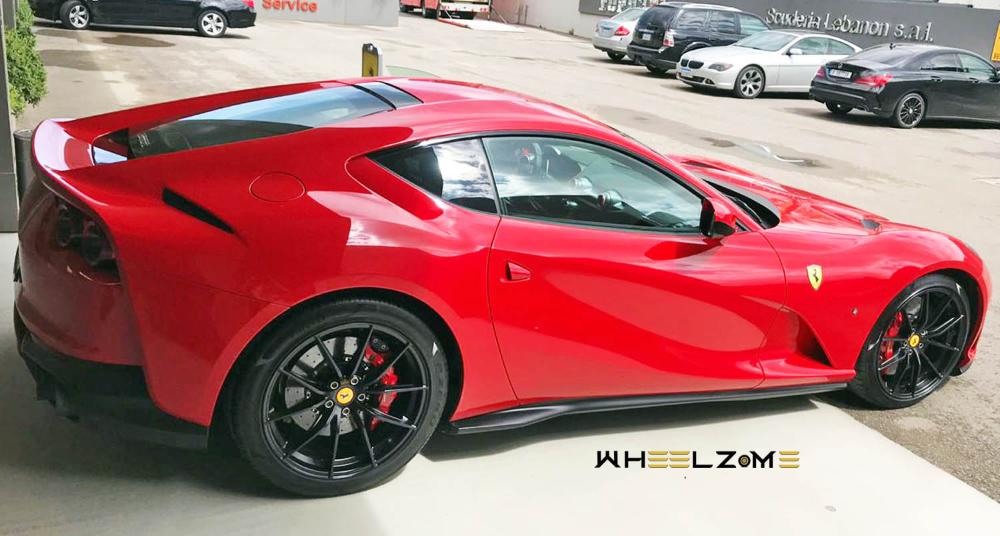 فيراري 812 سوبرفاست الجديدة أروع سيارات الحصان الجامح موقع ويلز Ferrari Car Sports Car
