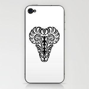 Aries iPhone & iPod Skin by Mario Sayavedra from $15