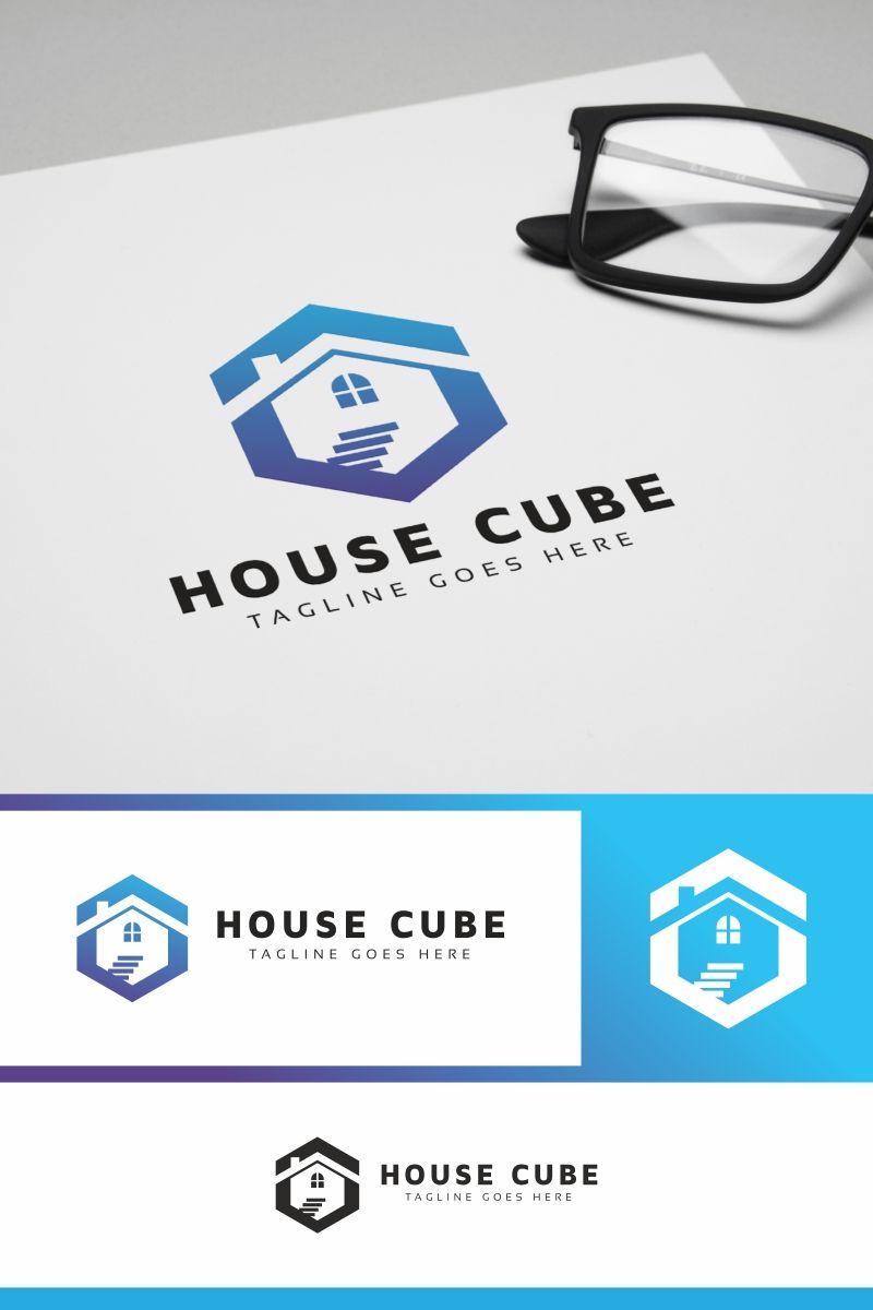 House Cube Logo Template 79144 House logo design