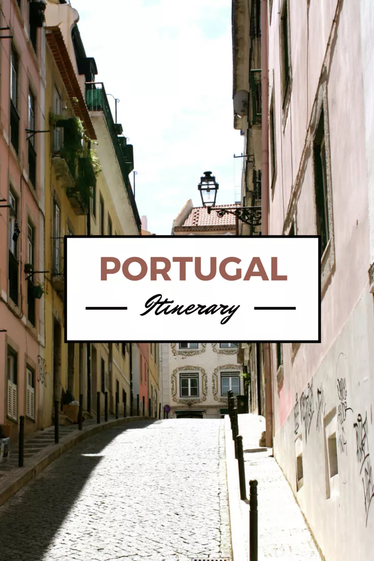 Complete Itinerary to Visit Portugal in 12 Days Without a Car | Annie Anywhere #bestplacesinportugal