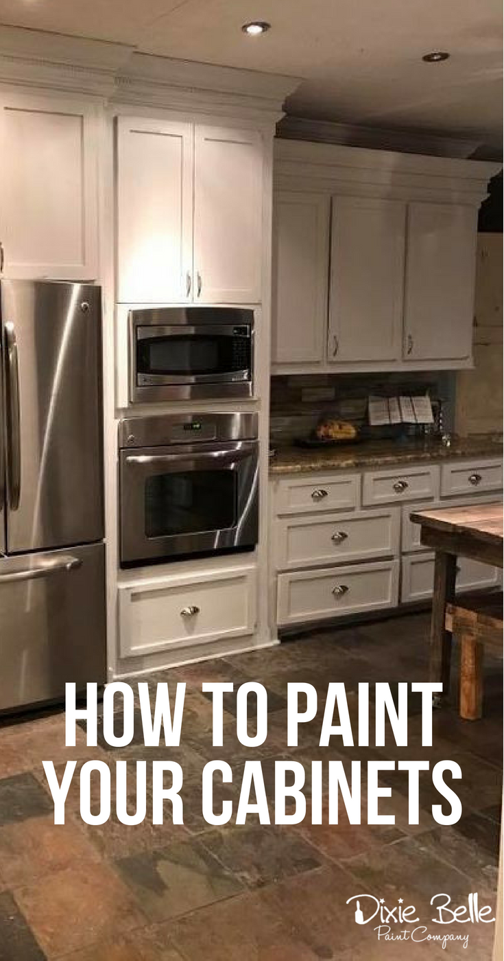 How To Paint Cabinets Dixie Belle Paint Company Painting Cabinets Dixie Belle Paint Painting Cabinets Diy