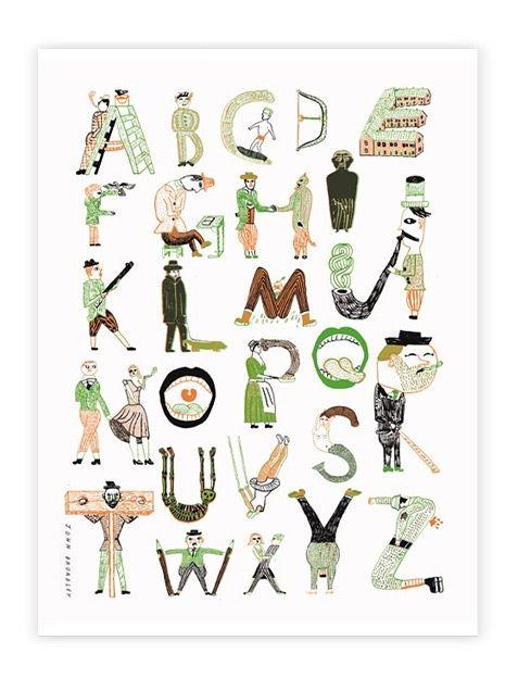 Human Empire Artist Series ABC Poster (J. Broadley) (DIN A1)