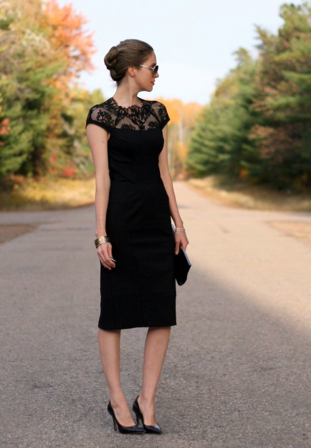 Black Tie Wedding Guest Dress