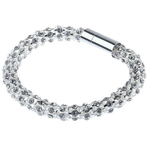 Diamante mesh bracelet