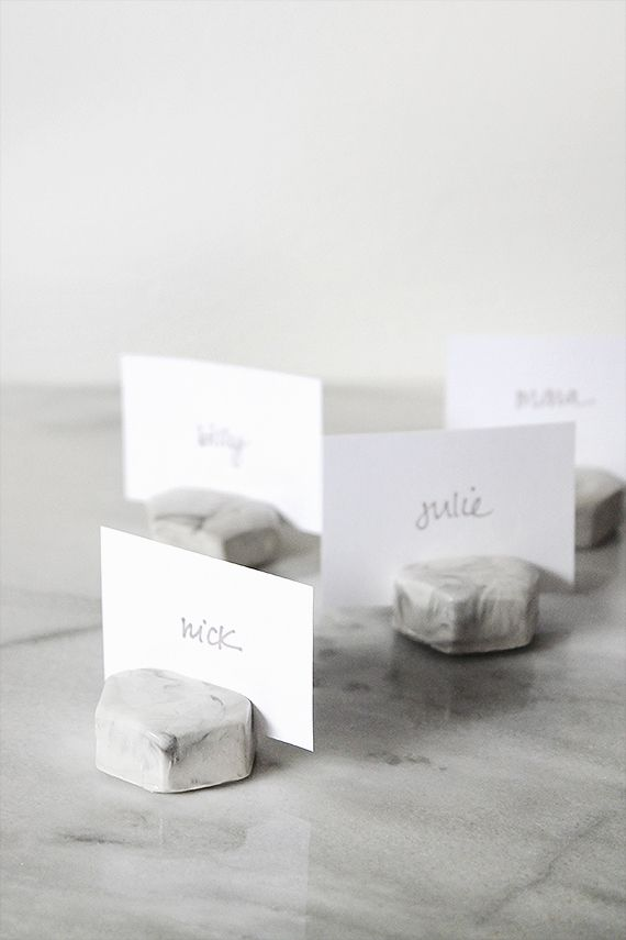 Place Card Holders Diy