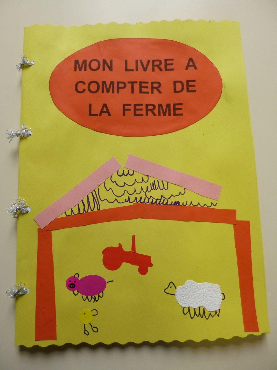 Livre A Compter Ms Et Gs Ecole Ferme Theme Ferme