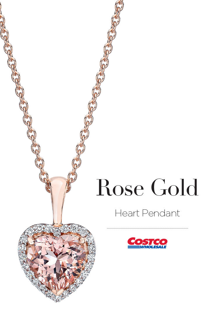 Morganite And Diamond 14kt Rose Gold Heart Pendant Heart Pendant Gold White Gold Heart Necklace White Gold Cross Necklace