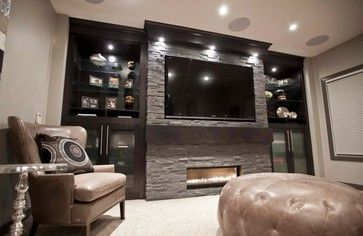 Basement Entertainment Center Design Ideas
