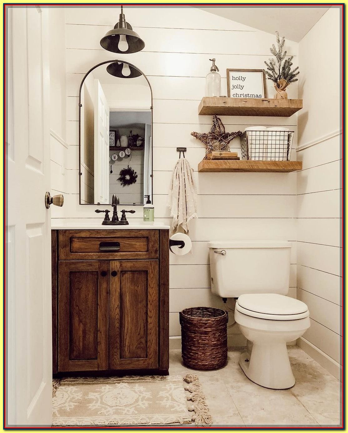 Awesome Bathroom Decorating Ideas On A Budget Find More At The Image Link In 2020 Tiny Powder Rooms Bathroom Redo Bathroom Makeover