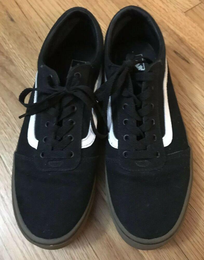 7ea022e890381b Vans Old Skool Pro (Black White) Men s Skate Shoes 7.0 Barely Worn ...