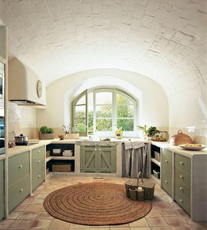 1001 designs et conseils pour la cuisine rustique parfaite cuisine pinterest cuisine. Black Bedroom Furniture Sets. Home Design Ideas