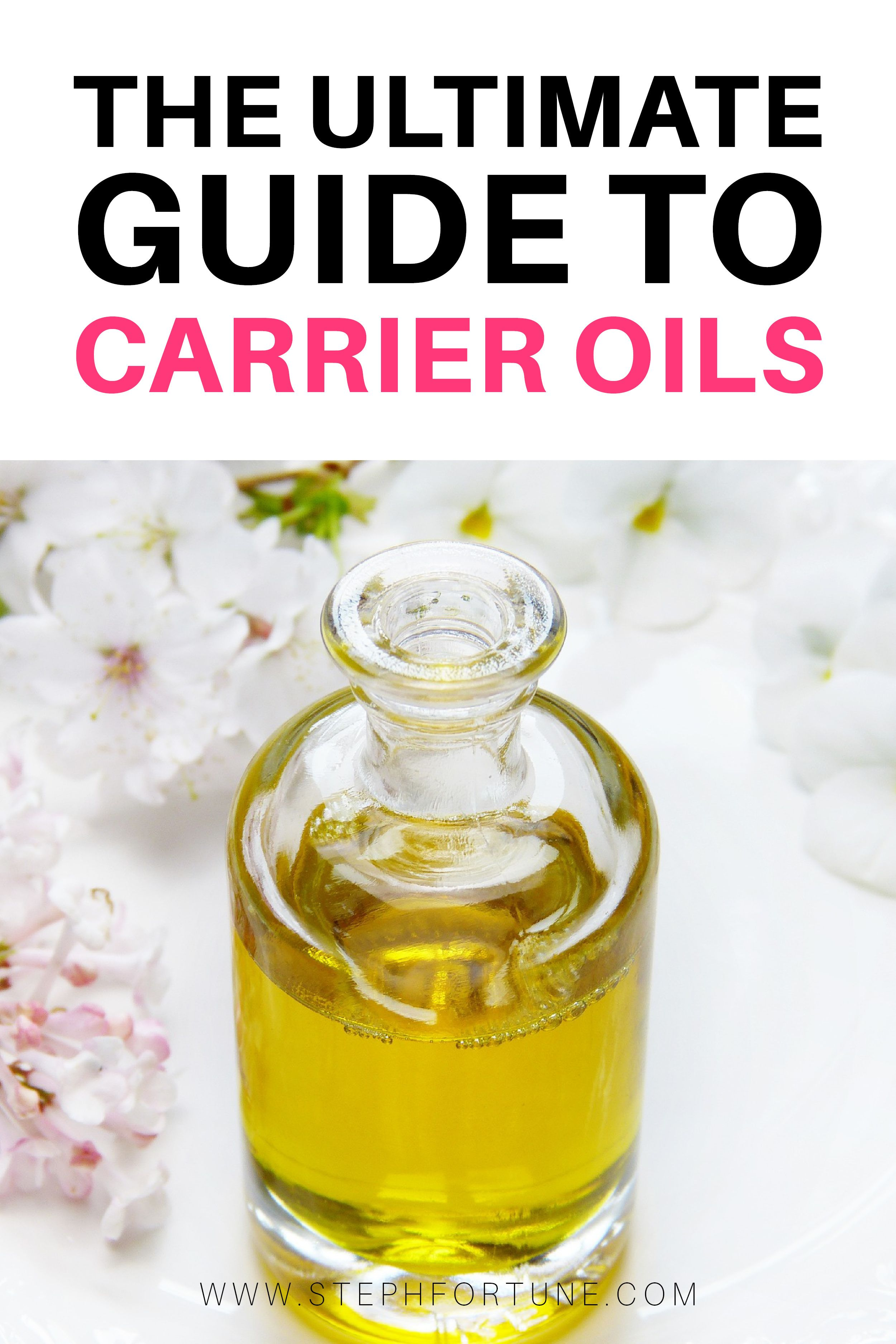 Ultimate List Of Carrier Oils For Diluting Essential Oils Hair Oil Diluting Essential Oils Carrier Oils