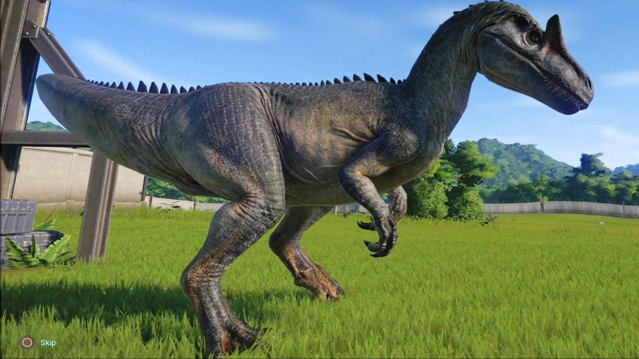 Resultado de imagem para jurassic world allosaurus