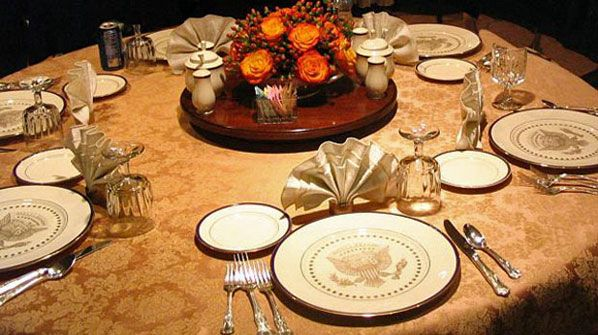 White House Mess table setting : indonesian table setting - pezcame.com