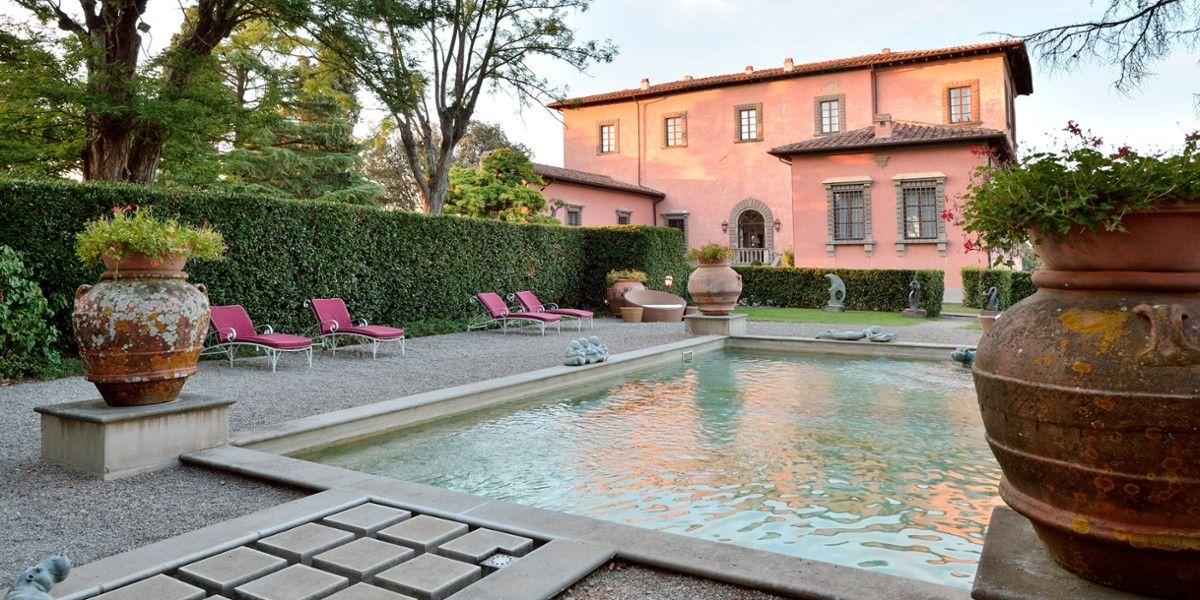 Villa Mangiacane Province Of Florence Italy Jetsetter Backyard Buildings Tuscany Homes Best Hotels