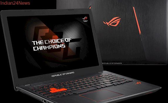 ASUS ROG Launches Gaming Notebook at Rs 94,990