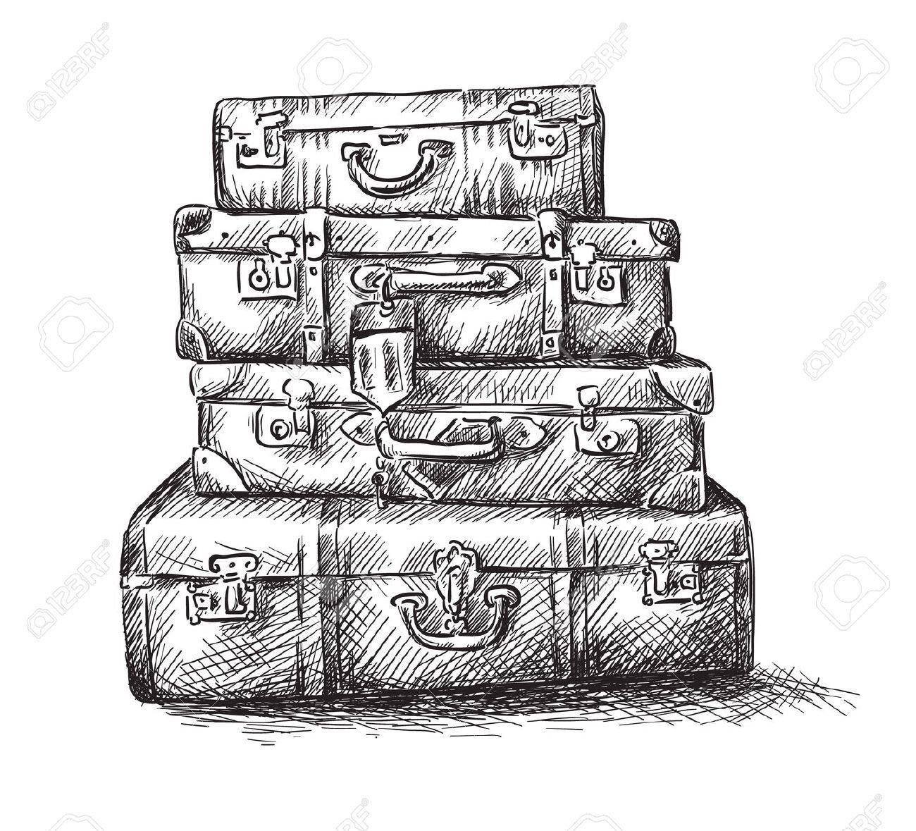 Afficher l 39 image d 39 origine image que j 39 aime pinterest - Dessin de valise ...