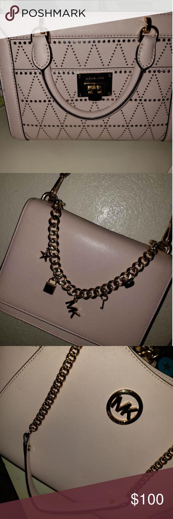 Blush MK purses 3 purses all like new Michael Kors Bags Shoulder Bags 8e0f735246