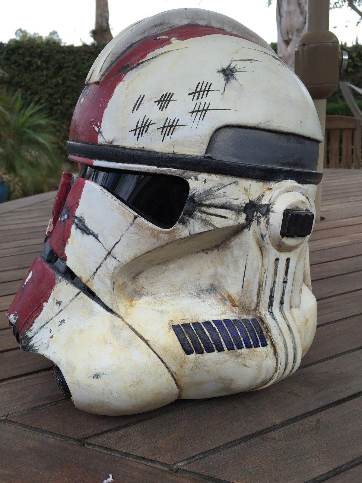 Star Wars Clone Wars Helmet Paint Jobs