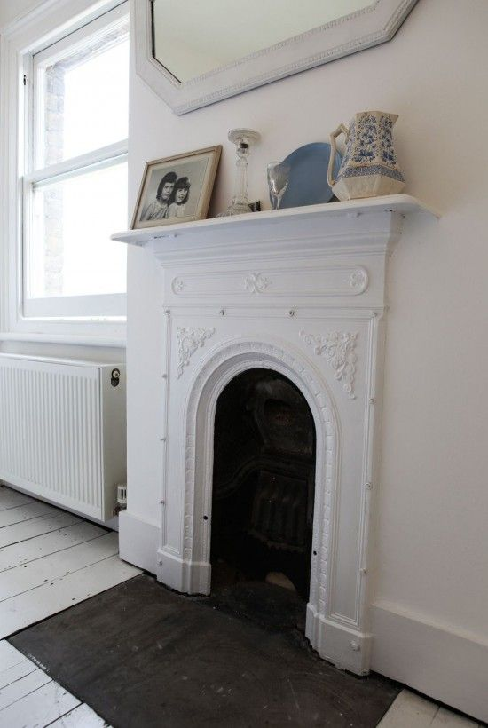 Pale And Interesting Victorian Bedroom Fireplace Victorian