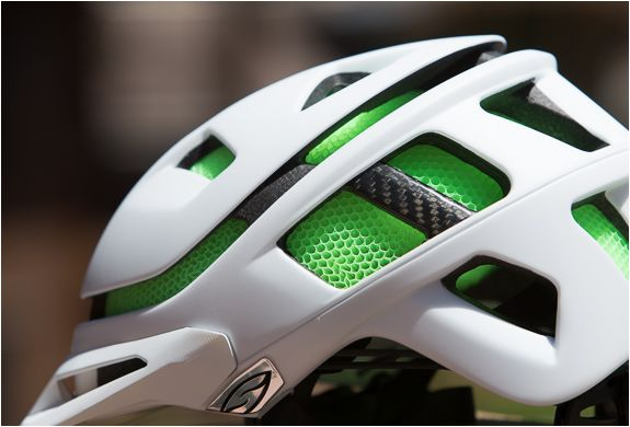 Smith, Forefront Bike Helmet, made with an interesting tubular core material that is supposed to be better at absorbing impact.