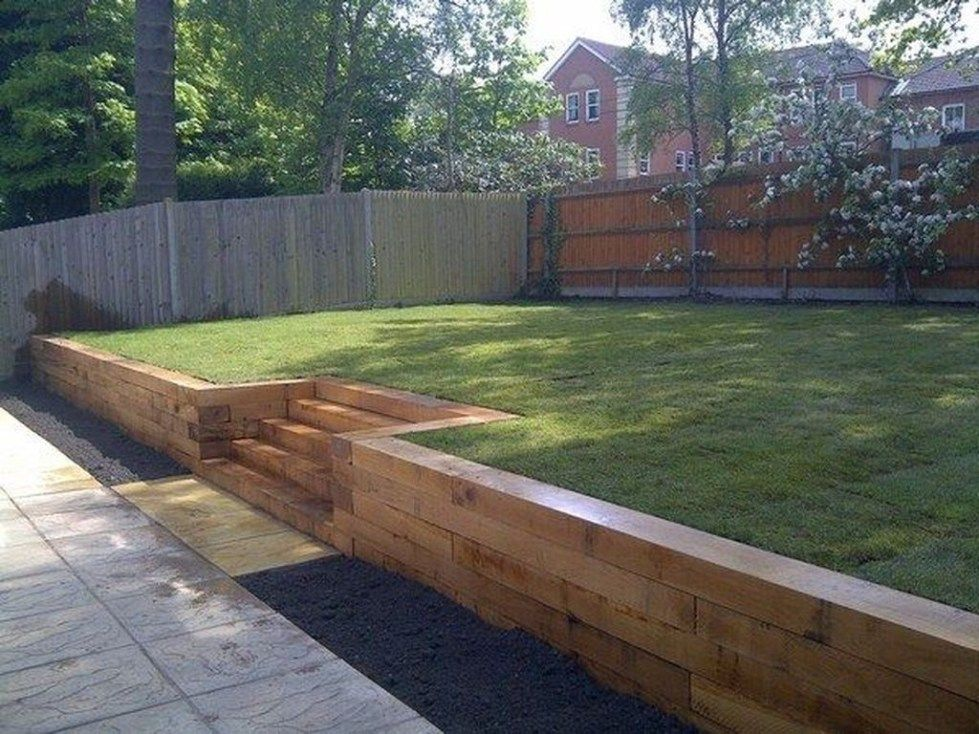 Gorgeous Front Yard Retaining Wall Ideas For Front House 55 Backyard Retaining Walls Landscaping Retaining Walls Garden Retaining Wall