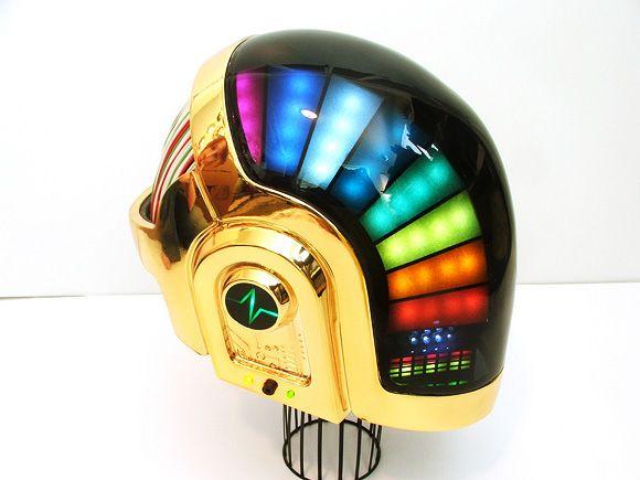 For Helmet Discovery Era DIY Kit Daft Punk Helmet Guy Manuel LED Set