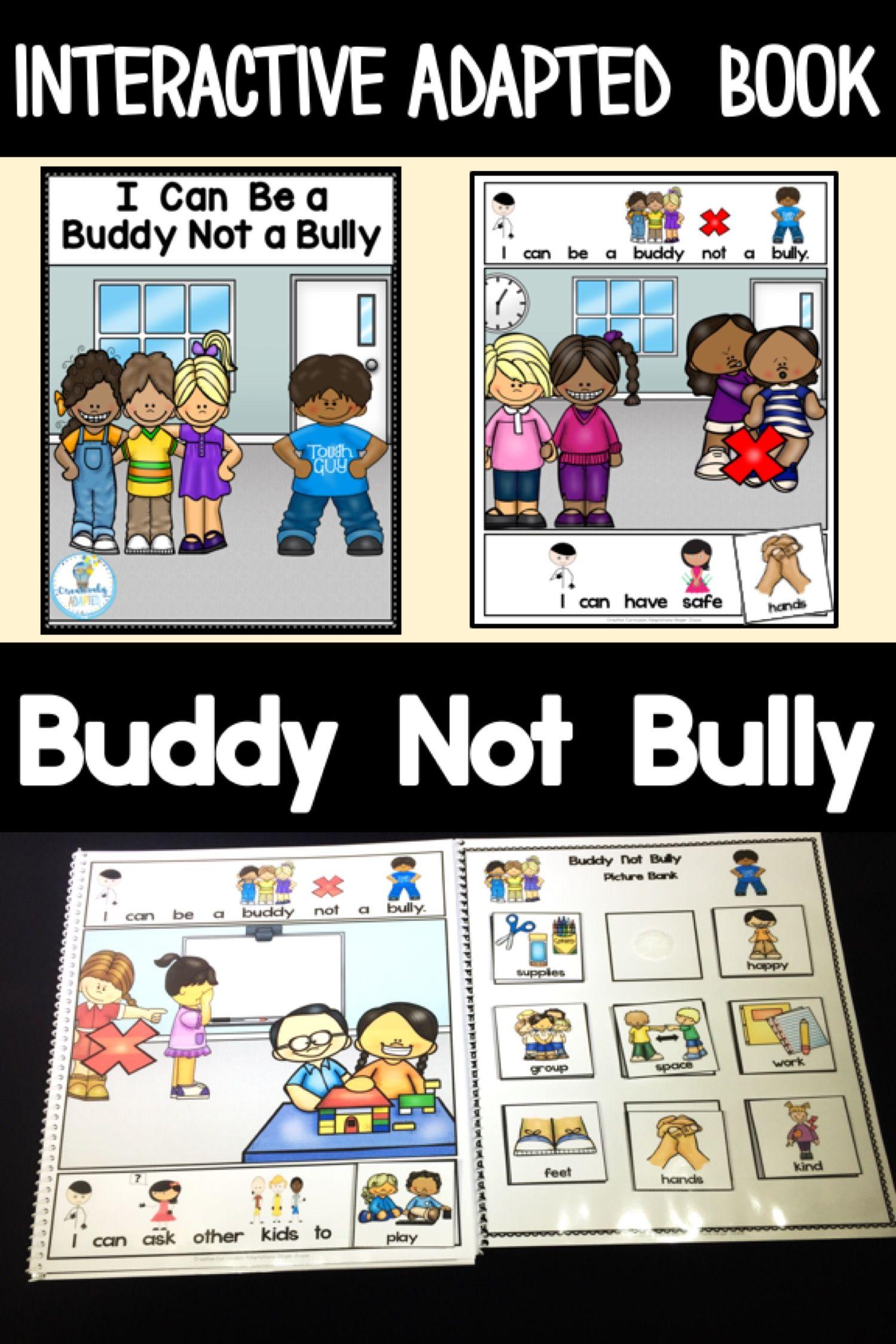 Interactive Book Social Skills Bullying Prek Ell Sped
