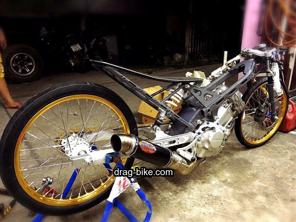Motor Drag Honda Sonic Street Racing Xe đẹp Xe Cộ Hinh Xăm Nhật