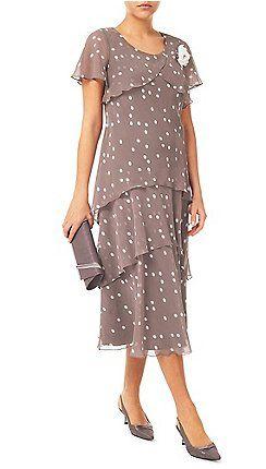 Jacques Vert - Spot Hanky Hem Dress