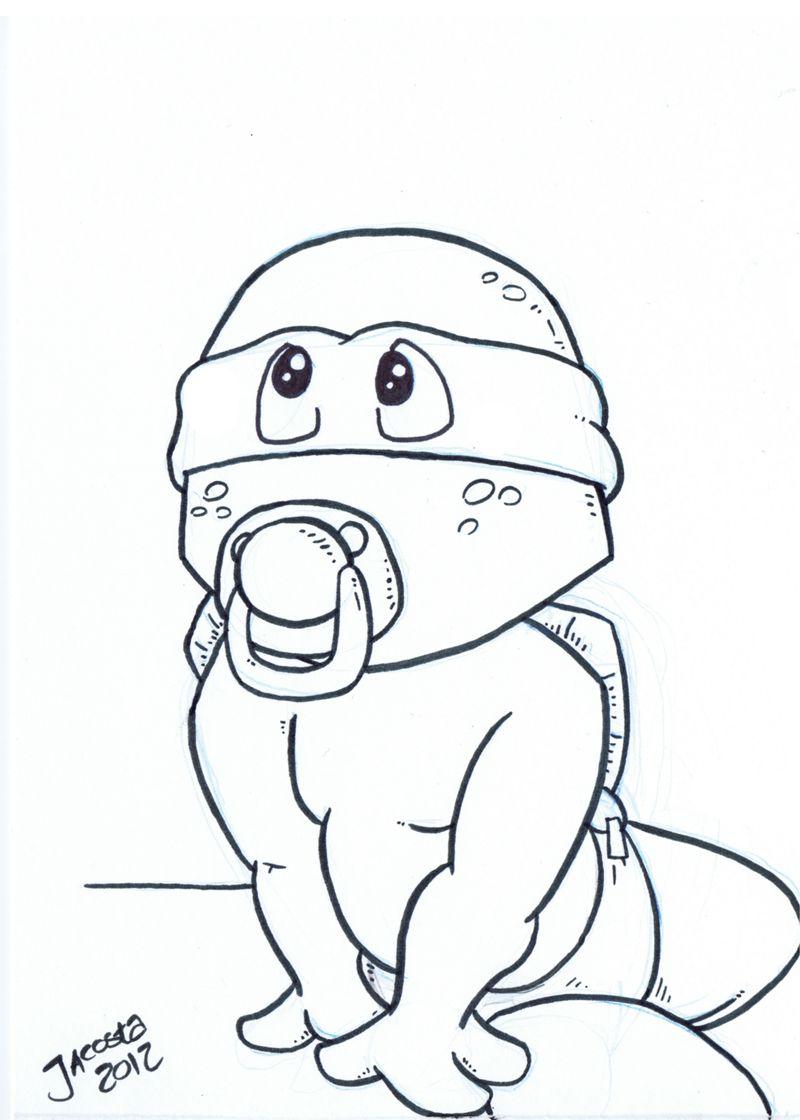 ninja turtles coloring pages to print - Ninja Turtles Free Printable Coloring Pages