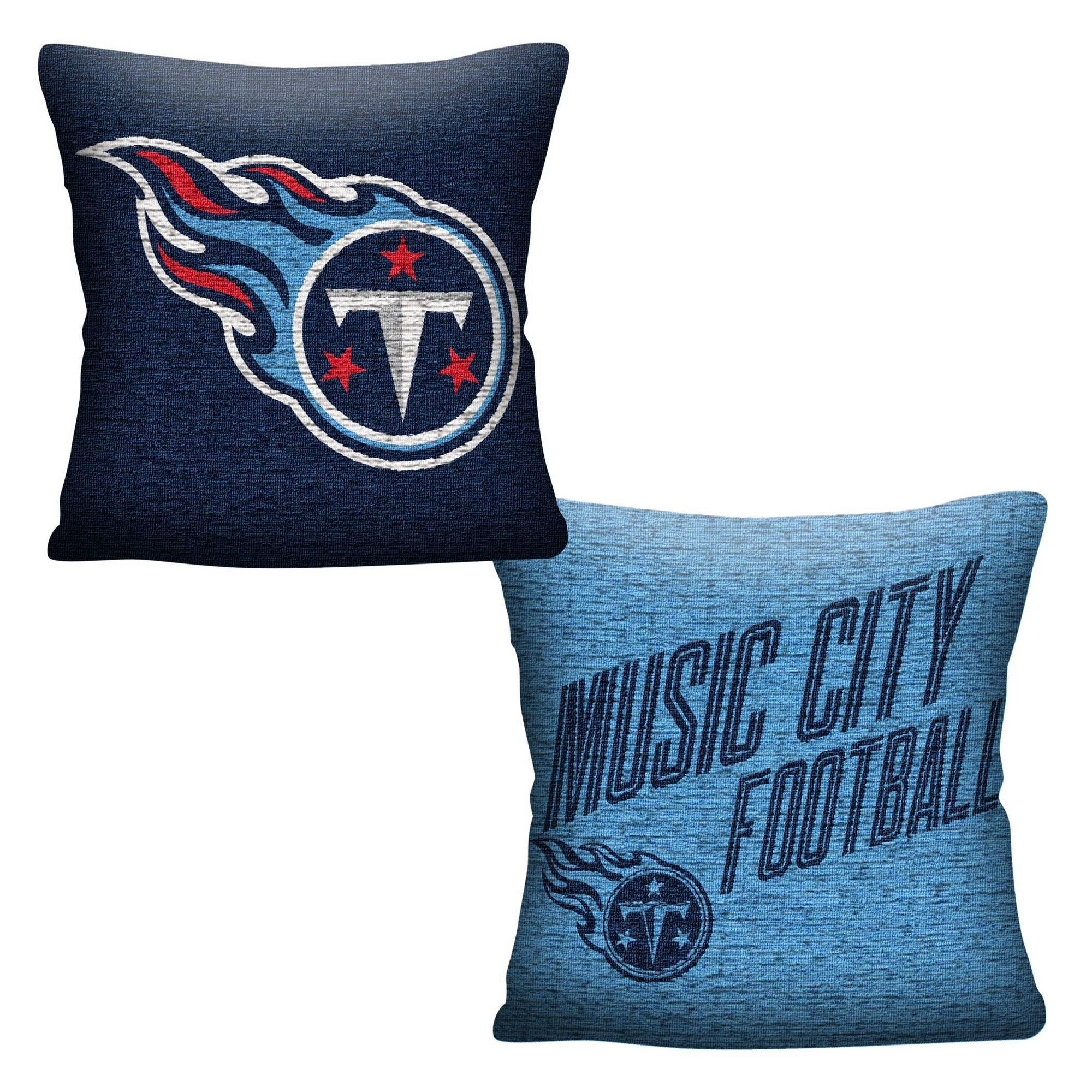 Nfl Tennessee Titans Inverted Woven Pillow Adult Unisex In 2020