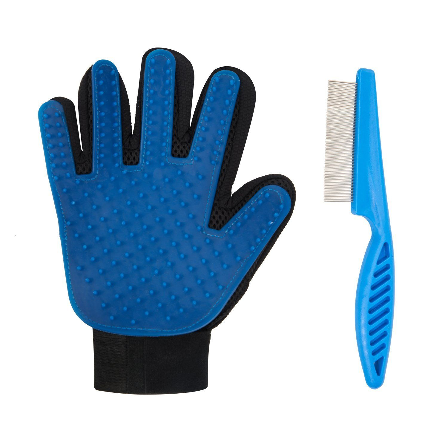 Elar Julie Pet Grooming And Clean Glove Which Used For Dogs Cats