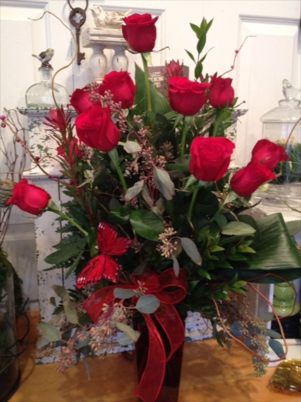 day dozen roses