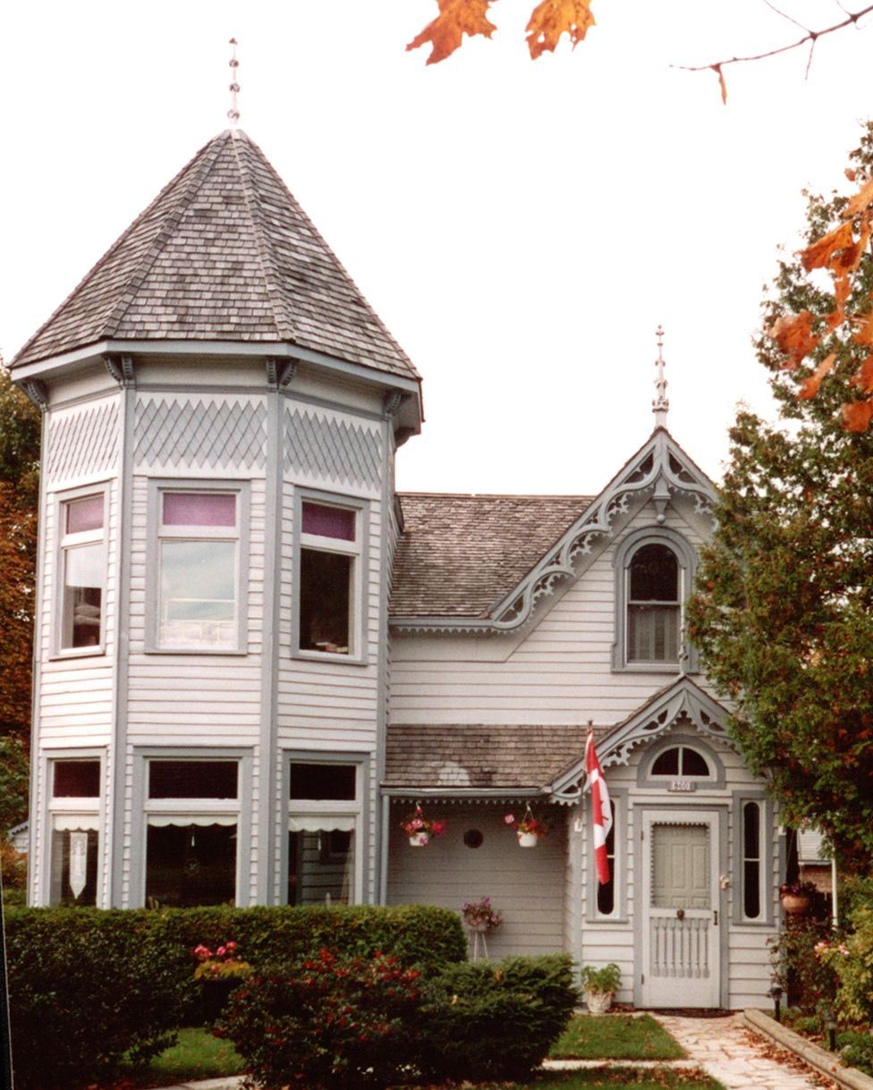 This Wooden Home Was Built In 1859 The House Was