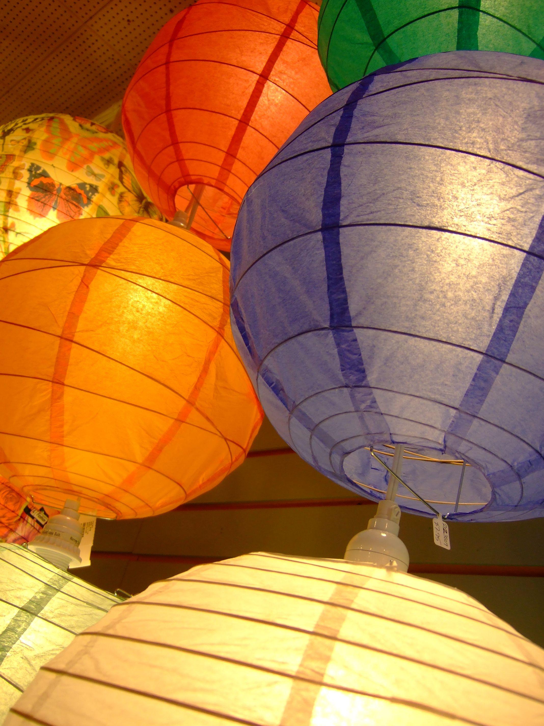 Kule Lampiony Z Papieru Asymetryczne Kule Lampiony Z