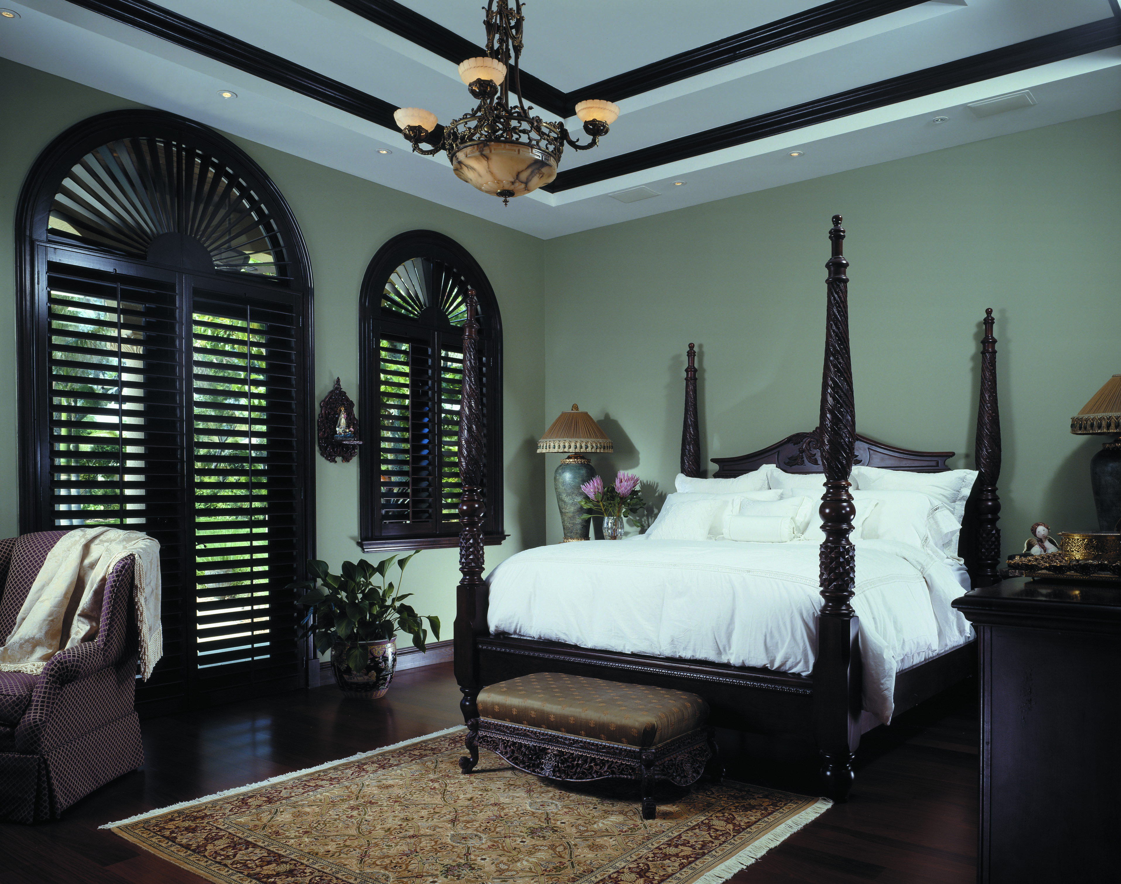 Master bedroom new design  New Custom Home involved from planning stages designed all