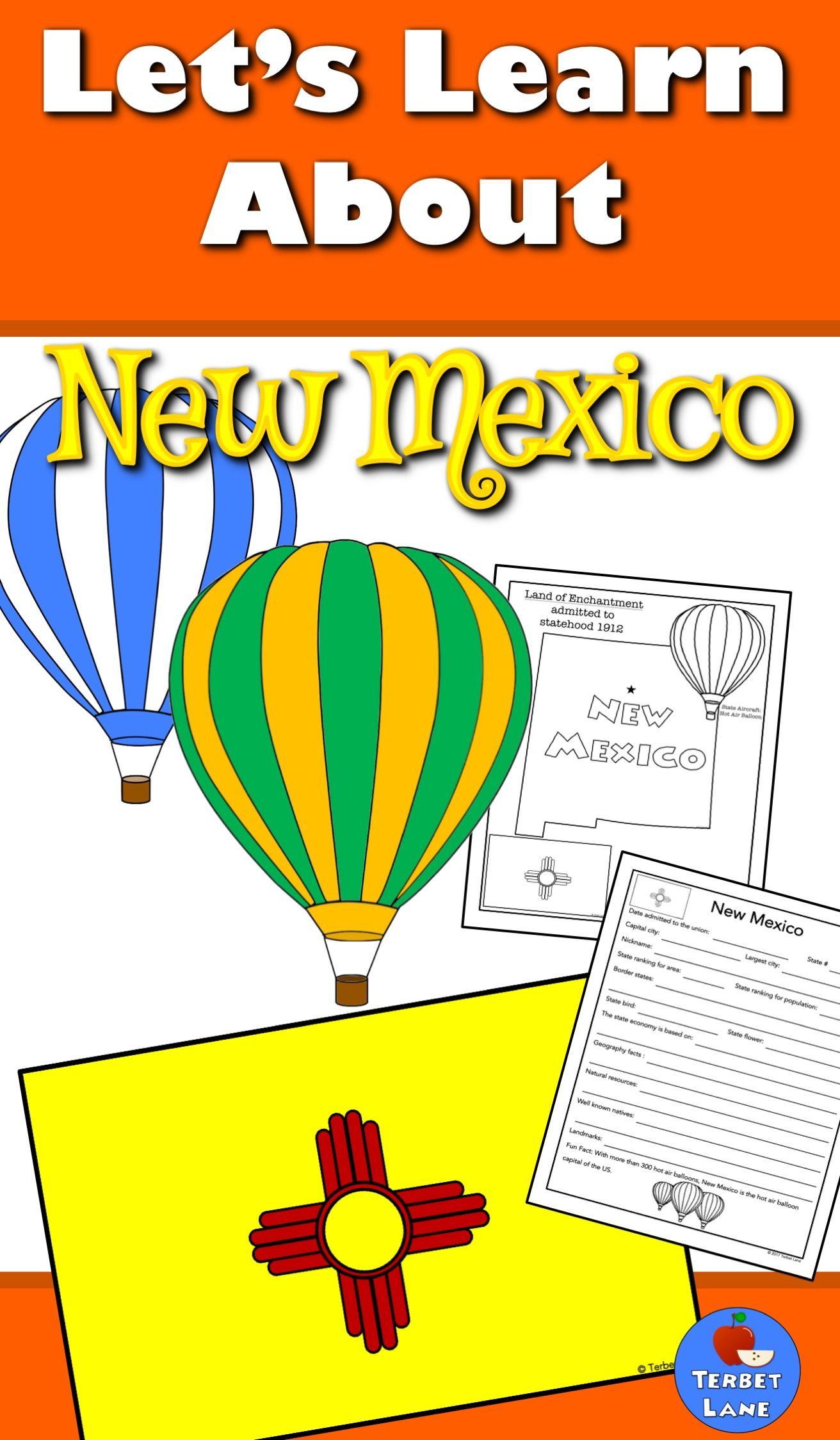 New Mexico History And Symbols Unit Study