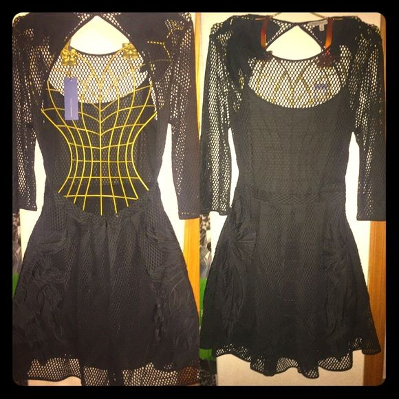 **Rebecca Minkoff Backless Lace Dress** Chic backless lace dress Rebecca Minkoff Dresses Backless